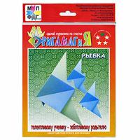 Набор цветной бумаги для оригами Рыбка9С 003-02570475Набор Рыбка содержит в себе четыре листа дизайнерской цветной бумаги для оригами, которые помогут вам и вашему ребенку сделать яркие и разнообразные фигурки. Также в набор входит схематичная инструкция по изготовлению рыбки и журавлика. Забавные бумажные фигурки из разноцветной бумаги станут великолепным украшением интерьера помещения и отличным подарком самым близким людям. Оригами - это искусство бумажной пластики, родившееся в Японии. Слово оригами складывается из двух иероглифов: ори - складывать и ками - бумага. Оригами - одно из уникальных занятий для всех и каждого на любом этапе жизни с раннего детства до старости. Оригами - это проявление творческого потенциала личности, освобождение от тревожного состояния. Оригами привносит радость в жизнь человека и его окружение, увеличивает жизненные силы, помогает найти новое призвание в жизни.