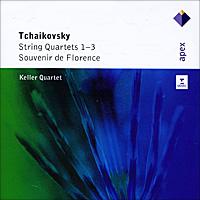 Keller Quartet. Tchaikovsky. String Quartets 1-3 / Souvenir De Florence (2 CD)