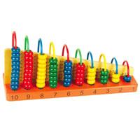 Обучающая игра Арифметический счетД013Обучающая игра Арифметический счет научит вашего ребенка счету и поможет освоить таблицу сложения и вычитания от одного до десяти. Игрушка выполнена в виде основы с десятью разноцветными дугами, на которых расположены косточки синего, желтого, зеленого и красного цветов. Напротив каждой дуги написаны примеры, которые ваш ребенок должен решить с помощью счетов. Обучающая игра Арифметический счет послужит хорошим пособием для начальных математических знаний.