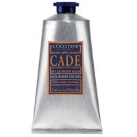 Бальзам после бритья LOccitane Cade, 75 мл057773/434437Бальзам после бритья LOccitane Cade после нанесения мгновенно устранит чувство дискомфорта, успокоит и смягчит кожу. Входящие в состав бальзама масла можжевельника, карите, березовый экстракт успокоят раздражение, снимут покраснение и обеспечат защиту коже. Характеристики: Объем: 75 мл. Артикул: 057773. Производитель: Франция. Loccitane (Л окситан) - натуральная косметика с юга Франции, основатель которой Оливье Боссан. Название Loccitane происходит от названия старинной провинции - Окситании. Это также подчеркивает идею кампании - сочетании традиций и компонентов из Средиземноморья в средствах по уходу за кожей и для дома. LOccitane использует для производства косметических средств натуральные продукты: лаванду, оливки, тростниковый сахар, мед, миндаль, экстракты винограда и белого чая, эфирные масла розы, апельсина, морская соль также идет в дело. Специалисты компании с особой тщательностью отбирают сырье. Учитывается множество факторов,...