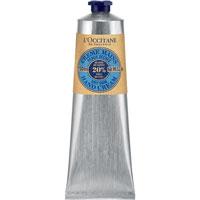 Крем для рук LOccitane Карите, 150 мл208892Крем содержит 20% масла карите, мед и экстракт миндаля, благодаря которым ваши руки всегда будут мягкими и нежными. Тающая текстура моментально впитывается, восстанавливая и защищая сухую и обезвоженную кожу, даря ей тонкий аромат жасмина и иланг-иланга.