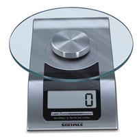 """Soehnle Весы кухонные электронные """"Style"""", цвет: серебристый 65105"""