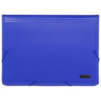 Папка на резинке Comix, с цветными индексами, цвет: синийKF4302J синийПапка Comix изготовлена из плотного пластика с текстильной окантовкой. Внутри имеет 12 отделений для сортировки документов и комплект цветных индексов для создания рубрикатора. Закрывается папка при помощи резинок по углам. С такой папкой Ваши документы всегда будут в полном порядке. Характеристики: Цвет: синий. Материал: пластик, текстиль, картон. Толщина пластика: 1 мм. Размер папки: 33,5 см х 24,5 см х 3,5 см. Количество отделений: 12.