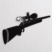 Наклейка Снайпер на дверной глазок9837Наклейка Снайпер предназначена для дверного глазка. Наклейка выполнена в виде самоклеющейся пленки. Такая наклейка отлично будет смотреться на вашей двери. Характеристики: Размер наклейки: 17,5 см х 9 см. Материал: полиэстер. Изготовитель: Китай. Артикул: 9837.
