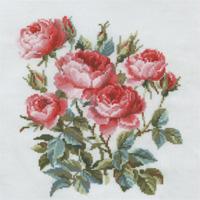 """Набор для вышивания крестом """"Садовые розы"""", 40 см х 40 см"""