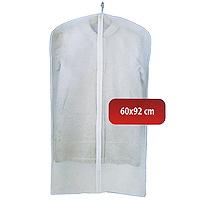 Чехол для одежды Hausmann, 60 х 92 см 2C-360922C-36092Удобный чехол для одежды на молнии обеспечит надежное хранение Вашей одежды, защитит от повреждений во время хранения и транспортировки, а также от пыли и грязи. Легко чистится при помощи влажной тряпки. Характеристики: Материал: полиэтилвинилацетат. Размер: 60 см х 92 см. Артикул: 2C-36092. Произведено в Китае по заказу Hausmann. Продукция компании Hausmann достаточно хорошо известна на российском рынке. Используя современные технологии в качестве неисчерпаемого источника для вдохновения, она не перестает радовать покупателей товарами отменного качества. Разнообразие товаров приятно удивляет. Вы действительно сможете найти то, что вам необходимо! Вся продукция тщательно проверяется на предмет надежности и безопасности, и вы можете быть уверенными в том, что купленная однажды вещь долго прослужит вам верой и правдой.