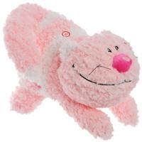 Мягкая игрушка Любимый кот, цвет: розовый, 28 смK09063A1Симпатичный полосатый кот не оставит равнодушным ни ребенка, ни взрослого и вызовет улыбку у каждого, кто его увидит. Если нажать на живот кота, он споет забавную песенку. Игрушка выполнена из необычайного мягкого и приятного на ощупь материала и подарит своему обладателю мгновения нежных объятий и приятных воспоминаний. Характеристики: Длина игрушки: 27 см.