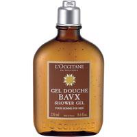 Гель для ванны и душа LOccitane Eau des Baux, 250 мл109885Гель для ванны и душа LOccitane Eau des Baux прекрасно очищает кожу, придавая ей волнующий мужественный аромат свежих нот кипариса и мягких оттенков ладана. Характеристики: Объем: 250 мл. Производитель: Франция. Артикул: 109885. Loccitane (Л окситан) - натуральная косметика с юга Франции, основатель которой Оливье Боссан. Название Loccitane происходит от названия старинной провинции - Окситании. Это также подчеркивает идею кампании - сочетании традиций и компонентов из Средиземноморья в средствах по уходу за кожей и для дома. LOccitane использует для производства косметических средств натуральные продукты: лаванду, оливки, тростниковый сахар, мед, миндаль, экстракты винограда и белого чая, эфирные масла розы, апельсина, морская соль также идет в дело. Специалисты компании с особой тщательностью отбирают сырье. Учитывается множество факторов, от места и условий выращивания сырья до времени и технологии сборки. Товар сертифицирован.