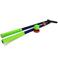Игровой набор ХоккейHKPB-70(B)Игровой набор Хоккей изготовленный из вспененной резины, непременно, пригодиться вам, если вы собрались поиграть в хоккей. В наборе две клюшки, шайба и мяч. Благодаря яркой расцветке и легкому мягкому материалу, игра в хоккей станет очень увлекательной. Характеристики: Материал: вспененная резина, пластик. Длина клюшки: 99 см. Диаметр мяча: 7 см. Диаметр шайбы: 8 см.