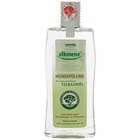 Ополаскиватель для полости рта Alkmene, 500 мл005109Ополаскиватель для полости рта Alkmene с маслом австралийского чайного дерева эффективно предупреждает воспаление полости рта. Помогает бороться с кариесом и зубным налетом в местах, недоступных для зубной щетки. Уменьшает воспаление полости рта, устраняет неприятных запах. Не содержит хлоргексидин. Содержит фторид натрия (0,044%).