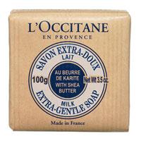 Мыло LOccitane Молоко, 100 г321058Мыло туалетное Молоко 100г