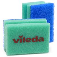 Набор губок для мытья посуды Vileda, 2 шт3680-4Губка Vileda предназначена для мытья посуды из деликатных материалов: акрила, тефлона, стекла, фарфора, хрусталя, полированной стали. Бережно чистит, не оставляя царапин. Удобна в использовании за счет специальных пазов для пальцев. Долгий срок службы. Характеристики: Размер: 6,5 см х 9,5 см х 4,5 см. Комплектация: 2 шт. Изготовитель: Германия. Артикул: 3680-4.