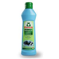 Чистящее молочко Frosch, минеральное, 250 мл1706833Чистящее молочко Frosch эффективно удаляет пригоревшие остатки пищи и образовавшие корку загрязнения со всех плит, включая газовые, электрические и стеклокерамические. Кроме того, оно идеально подходит для чистки вытяжных колпаков, кастрюль, сковород, грилей и барбекю. Чистящее молочко с содой воздействует благодаря высокоэффективному составу, в который входит мраморная мука и эффективно удаляющая жир сода. Средство придает поверхностям сияющий блеск. Торговая марка Frosch специализируется на выпуске экологически чистой бытовой химии. Для изготовления своей продукции Frosch использует натуральные природные компоненты. Ассортимент содержит все необходимое для бережного ухода за домом и вещами. Продукция торговой марки Frosch эффективно удаляет загрязнения, оберегает кожу рук и безопасна для окружающей среды. Характеристики: Объем: 250 мл. Производитель: Германия. Товар сертифицирован.