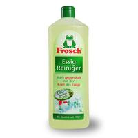 Чистящее средство Frosch против известковых отложений, 1 л114291Чистящее средство Frosch предназначено для удаления известковых отложений. Средство содержит натуральный уксус, который эффективно борется с известью, остатками мыла, устраняет жировые загрязнения и неприятные запахи. Действует даже при застарелых загрязнениях и при постоянном применении препятствует появлению новых. Торговая марка Frosch специализируется на выпуске экологически чистой бытовой химии. Для изготовления своей продукции Frosch использует натуральные природные компоненты. Ассортимент содержит все необходимое для бережного ухода за домом и вещами. Продукция торговой марки Frosch эффективно удаляет загрязнения, оберегает кожу рук и безопасна для окружающей среды.