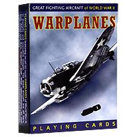 Коллекционные игральные карты Аэропланы, 55 листов1164В основу оформления колоды легли изображения моделей военных аэропланов Второй Мировой войны. Иллюстрации выполнены с исторической точностью и мельчайшей проработкой деталей. Коллекционные карты Аэропланы доставят вам удовольствие от игры.