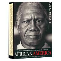 Карты игральные коллекционные Piatnik Афро Америка, 55 карт1478В основу оформления колоды легли фотографии, на которых изображены выдающие афроамериканцы - знаменитости, деятели культуры. Эти исторические фотографии хранятся в Национальной библиотеке Конгресса в Вашингтоне. Коллекционные карты Афро Америка доставят вам удовольствие от игры.