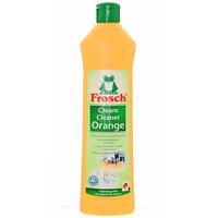Чистящее молочко Frosch, с ароматом апельсина, 500 мл104807Чистящее молочко Frosch удаляет любые загрязнения, такие как жир, известковый налет и остатки мыла. Молочко содержит натуральную мраморную пыльцу, которая совершенно не царапает такие изысканные поверхности, которые не переносят абразива. А также содержит вещества из апельсиновых корок, которые эффективно растворяют жир. Средство подходит для чистки стеклокерамических плит, поверхностей с зеркальным блеском, эмалей, высококачественной стали и акриловых ванн. Средство обладает приятным цитрусовым ароматом. Торговая марка Frosch специализируется на выпуске экологически чистой бытовой химии. Для изготовления своей продукции Frosch использует натуральные природные компоненты. Ассортимент содержит все необходимое для бережного ухода за домом и вещами. Продукция торговой марки Frosch эффективно удаляет загрязнения, оберегает кожу рук и безопасна для окружающей среды.
