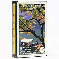 Коллекционные игральные карты Четыре сезона Японии, 55 листов1110В основу оформления колоды легли фотографии удивительной по красоте природы и архитектуры Японии. Коллекционные карты Четыре сезона Японии доставят вам удовольствие от игры.