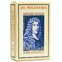 Коллекционные игральные карты Филателист, 54 листа390263В основу оформления колоды легли изображения различных марок. Коллекционные карты Филателист доставят вам удовольствие от игры.