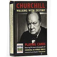 Коллекционные игральные карты Черчиль, 54 листа1155В основу оформления колоды легли изображения Уинстона Черчиля, британского военного лидера и государственного деятеля. Иллюстрации выполнены с исторической точностью и мельчайшей проработкой деталей. Коллекционные карты Черчиль доставят вам удовольствие от игры.