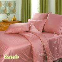 Комплект белья Rosado (1,5 спальный КПБ, сатин, наволочки 70х70)Ch-Р-143-150-70Комплект постельного белья Rosado, изготовленный из сатина, поможет вам расслабиться и подарит спокойный сон. Постельное белье имеет изысканный внешний вид и обладает яркостью и сочностью цвета. Комплект состоит из пододеяльника, простыни и двух наволочек. Благодаря такому комплекту постельного белья вы сможете создать атмосферу уюта и комфорта в вашей спальне. Сатин производится из высших сортов хлопка, а своим блеском, легкостью и на ощупь напоминает шелк. Такая ткань рассчитана на 200 стирок и более. Постельное белье из сатина превращает жаркие летние ночи в прохладные и освежающие, а холодные зимние - в теплые и согревающие. Благодаря натуральному хлопку, комплект постельного белья из сатина приобретает способность пропускать воздух, давая возможность телу дышать. Одно из преимуществ материала в том, что он практически не мнется и ваша спальня всегда будет аккуратной и нарядной.