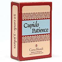 ���������� ����� Cupido Patience, 55 ������, � ������������ - Carta Mundi106621465����-������ Cupido Patience �������� �������� ��� ��������� ������������ ��������. � ������ ���������� ������� ������ �������� ����������� ���������. ������ �������� � ���� 52 ����� � 3 �������. ����� ����� ������� �����������, ��������� �������� �� ��������.