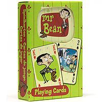 Карты игральные коллекционные Piatnik Мистер Бин, 54 листа107749121В основу оформления колоды легли забавные картинки, посвященные знаменитому английскому комику Мистеру Бину. На картинках изображены смешные сюжеты с участием Мистера Бина. Коллекционные карты Мистер Бин доставят вам удовольствие от игры.
