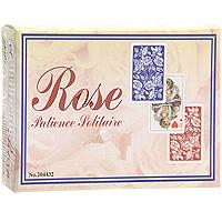 Набор игральных карт Розы, 2x55 листов2044Набор Розы состоит из двух колод игральных карт. Карты оформлены синей и красной рубашкой с орнаментом из роз. Эти карты послужат замечательным подарком и доставят вам удовольствие от игры. Карты упакованы в подарочную коробку.
