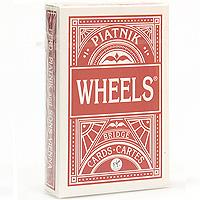 Карты игральные профессиональные Piatnik Wheels бридж, 55 карт1392Карты Хилс подходят для профессиональных игроков в БРИДЖ и другие карточные игры, так как имеют очень гладкую поверхность, высококачественное покрытие и стандартный размер.