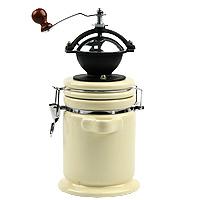 Мельница для кофе Atlantis, с керамической емкостью98-090Ручная мельница для кофе Atlantis с керамической емкостью позволит вам молоть зерна кофе в любой удобный для вас момент. Мельница даст вам возможность насладиться первозданным ароматом кофейных зерен и станет изюминкой ежедневного ритуала приготовления идеальной чашки кофе. Отличный подарок для настоящего ценителя кофе. Высота: 28 см.
