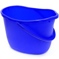 Ведро Apex, цвет: синий, 15 л. 1036510365-AВедро Apex изготовлено из высококачественного цветного пластика. Оно легче железного и не подвержено коррозии. Уникальный дизайн и эргономическая форма ручки позволяет с комфортом и безболезненно переносить содержимое ведра. Такое ведро станет незаменимым помощником в хозяйстве. Размер (по верхнему краю): 26 см х 37 см. Высота (без учета ручки): 26 см.