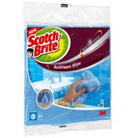 Салфетка микроволоконная Scotch-Brite, для уборки в ваннойXX004811798Микроволоконная салфетка Scotch-Brite идеально подходит для уборки в ванной комнате. Может применяться на разных поверхностях: эмалированных, керамических, хромированных. Салфетка прекрасно впитывает влагу и удаляет грязь, пыль, разводы. Допускается применение с моющими средставми. Преимущества: уникальный микроволоконный материал позволяет избавиться от грязи, пыли и разводов за считанные минуты благодаря плотной текстуре ткани салфетка отлично впитывает излишки воды мягкая и приятная на ощупь многократная стирка в стиральной машине.