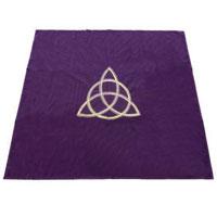 Скатерть для раскладывания карт Lo Scarabeo Wicca, цвет: фиолетовый. ТР03