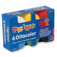 Пальчиковые краски 6 цветовx50мл