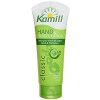 Лосьон для рук и ногтей Kamill Classic, 12 часов, 100 мл26950080Лосьон для рук и ногтей Kamill Classic 12 часов с экстрактом ромашки действует успокаивающе и естественным образом ухаживает за руками и ногтями. Формула мягкого ухода с содержанием пантенола дополнительно увлажняет кожу, защищает ее от высыхания, сохраняет ее гладкой и эластичной.