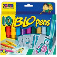 Набор для рисования Blopens Cool Colours0691539009123Набор для рисования Blopens привлечет внимание Вашего малыша и не позволит ему скучать! С этим набором малыш сможет создавать разнообразные рисунки и узоры так, как ему подскажет фантазия. Набор состоит из десяти цветных фломастеров и четырех трафаретов. Фломастеры типа блопен рисуют с помощью воздуха. Ребенок дует в трубочку, заполненную краской, - и лист бумаги или кусок ткани покрывается мелкими точечками. Поменял блопен - и к точкам одного цвета прибавляются другие! Необычный эффект получается, если распылять друг на друга различные цвета, или провести по рисунку влажной кисточкой. Если снять оба колпачка, получается обычный фломастер для рисунка тонкими линиями. Работа с воздушными фломастерами не только разовьет художественный вкус ребенка, но и укрепит дыхательную систему. Порадуйте своего малыша этим замечательным набором!