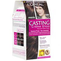 Светлый каштан цвет волос лореаль