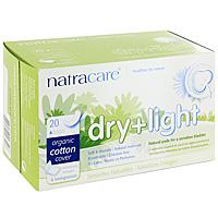 Гигиенические прокладки при недержании Natracare Dry + Light, 20 шт782126003508Гигиенические прокладки Natracare Dry + Light предназначены для использования при незначительном (стрессовом) недержании. Каждая четвертая женщина после 35 лет или в последние месяцы беременности страдает легким недержанием мочевого пузыря. Каждая прокладка снабжена влагонепроницаемым барьером и упакована в кармашек из бумаги. Покрытие состоит из Био-хлопка - экологически чистого продукта, выращенного без использования пестицидов, не содержит вредные ингредиенты, не отбелено хлором, и полностью разлагается после применения. В производстве прокладок использовался биопласт - пластик нового поколения, изготовленный из кукурузного крахмала, без ГМО. Он воздухопроницаемый, но не пропускает жидкость. В противоположность обычным пластикам, биопласт изготовлен из растительных материалов и биоразлагается. Характеристики: Состав: Био-хлопок, древесная целлюлоза, кукурузный крахмал, синтетический каучук (клей на нижнем основании прокладки). Количество...