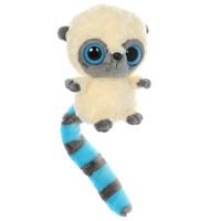 Мягкая игрушка AURORA Юху у голубой 12см65-101Очаровательная мягкая игрушка Лемур, выполненная в виде забавного зверька с большими глазками, вызовет умиление и улыбку у каждого, кто ее увидит. Она станет замечательным подарком, как ребенку, так и взрослому. Игрушка удивительно приятна на ощупь, а специальные гранулы, используемые при ее набивке, способствуют развитию мелкой моторики рук малыша. Мягкая игрушка может стать милым подарком, а может быть и лучшим другом на все времена.