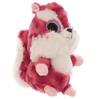 Мягкая игрушка Aurora Красная Белка, 12 см65-103Очаровательная мягкая игрушка Красная Белка, выполненная в виде забавного зверька с большими глазками, вызовет умиление и улыбку у каждого, кто ее увидит. Она станет замечательным подарком, как ребенку, так и взрослому. Игрушка удивительно приятна на ощупь, а специальные гранулы, используемые при ее набивке, способствуют развитию мелкой моторики рук малыша. Мягкая игрушка может стать милым подарком, а может быть и лучшим другом на все времена.