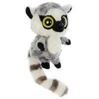 Мягкая игрушка Aurora Лемур, 20 см65-203Очаровательная мягкая игрушка Лемур, выполненная в виде забавного зверька с большими глазками, вызовет умиление и улыбку у каждого, кто ее увидит. Она станет замечательным подарком как ребенку, так и взрослому. Игрушка удивительно приятна на ощупь, а специальные гранулы, используемые при ее набивке, способствуют развитию мелкой моторики рук Лемур Лемми - реалистичный прообраз героя мультипликационного сериала Юху и его друзья. Мягкая игрушка может стать милым подарком, а может быть и лучшим другом на все времена. Компания Aurora производит широкий ассортимент высококачественных мягких игрушек для всех возрастных групп. Мягкие игрушки изготовлены из экологически чистых, гипоаллергенных материалов - плюша и синтепона. Высококачественные, безопасные и красивые мягкие игрушки станут универсальным подарком для детей.