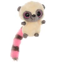 Мягкая игрушка Aurora Лемур, цвет: розовый, 20 см65-200Очаровательная мягкая игрушка Лемур, выполненная в виде забавного зверька с большими глазками, вызовет умиление и улыбку у каждого, кто ее увидит. Она станет замечательным подарком, как ребенку, так и взрослому. Игрушка удивительно приятна на ощупь, а специальные гранулы, используемые при ее набивке, способствуют развитию мелкой моторики рук малыша. Мягкая игрушка может стать милым подарком, а может быть и лучшим другом на все времена.