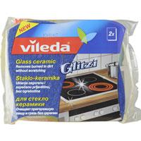 Набор губок для стеклокерамики Vileda, 2 шт127930Набор Vileda состоит из двух губок, которые разработаны специально для ухода за стеклокерамическими поверхностями. Они замечательно удаляют даже стойкие загрязнения без использования химических средств и не царапают поверхность. Совместная разработка с компанией Schott Ceran - лидером рынка по производству стеклокерамических варочных панелей. Характеристики: Материал: 100% полиуретан. Материал абразивной части: 40% полиэстер, 35%, абразивные частички, 25% резина. Размер: 11 см х 6 см х 2,5 см. Комплектация: 2 шт. Производитель: Германия. Артикул: 127930.