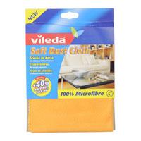 Салфетка Vileda Soft Dust Cloth125361Салфетка Vileda Soft Dust Cloth предназначена для сухой уборки помещения от пыли. Она собирает на 40% больше пыли по сравнению с обычными салфетками. Салфетка очень мягкая и приятная на ощупь.