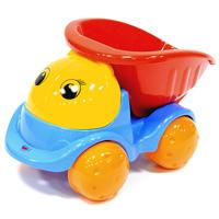 Грузовик Пчелка, цвет: синий01419Яркий грузовик Пчелка обязательно понравится малышу и доставит ему много удовольствия от часов, посвященных игре с ним. Грузовик с очаровательными глазками имеет вместительный кузов, который можно опускать, и большие колеса. Машинку можно катать на веревочке. Занятия с такой игрушкой помогут малышу развить цветовое восприятия, воображение и мелкую моторику рук. Порадуйте своего малыша таким замечательным подарком! Характеристики: Материал: пластик, металл. Размер грузовика: 25 см х 13,5 см х 14 см.