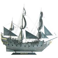 Сборная модель Черная жемчужина9037Сборная модель Черная жемчужина привлечет внимание не только ребенка, но и взрослого и позволит своими руками создать уменьшенную копию известного корабля. Легендарный пиратский корабль, вокруг которого разворачиваются события киноэпопеи Пираты Карибского моря. Под командованием капитанов Джека Воробья и Гектора Барбоссы Черная жемчужина неоднократно принимала участие в пиратских рейдах, сражалась с Летучим Голландцем, была несколько раз проклята, дала отпор самому Кракену, побывала на краю света и выступила в качестве флагмана пиратского флота. Этот корабль неоднократно был на волоске от крушения, но благодаря своим скоростным качествам и отваге экипажа, он до сих пор величественно рассекает волны Мирового океана. Уважаемые клиенты! Обращаем ваше внимание на тот факт, что элементы набора не покрашены. Клей и краски в комплект не входят.