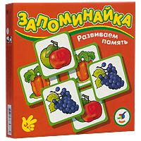 Развивающая игра Развиваем память: Овощи и фрукты, 24 элемента1701Эта развивающая игра основана на широко известном и очень популярном в мире принципе Memory. Перед игроками рубашкой вверх разложены карточки, открывая и закрывая по две, нужно найти все пары одинаковых карточек. Крупные карточки с изображением овощей и фруктов делают игру привлекательной даже для самых маленьких. Развивающая игра Развиваем память: Овощи и фрукты предназначена для развития внимания, мышления, цветовосприятия, мелкой моторики рук.