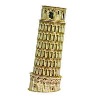 CubicFun Пизанская башня, 13 элементовC706hПизанская башня - уникальный конструктор-макет, с которым можно играть как дома, так и на улице. Составные элементы конструктора красочны и достаточно большие для того, чтобы даже маленькому ребенку было удобно и комфортно в него играть. Достаточно просто соединить элементы конструктора по приведенной схеме, и вы получите объемную модель известного здания. Пизанская башня - колокольная башня, часть ансамбля городского собора Санта-Мария Ассунта в городе Пиза. Башня получила прозвище Падающая башня и всемирную известность благодаря тому, что она сильно наклонена и как бы падает. Башня является колокольней католического собора Campo dei Miracoli (поле чудес). Автор проекта так и остался неизвестен. Раньше считали, что наклон башни являлся частью проекта, но сейчас эта версия представляется маловероятной. Башня проектировалась вертикальной, но наклон начал чувствоваться уже в процессе строительства и может быть связан с действием таких факторов, как мягкость почвы,...