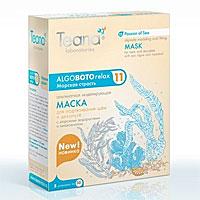 """Маска Teana """"Морская страсть"""" для подтягивания шеи и декольте, с морскими водорослями и миоксинолом, 5х30 г ( ABR11 )"""