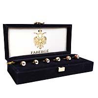 Комплект из 6 кулонов на фужеры. Металл, эмаль. House of Faberge, 90-е гг. ХХ века